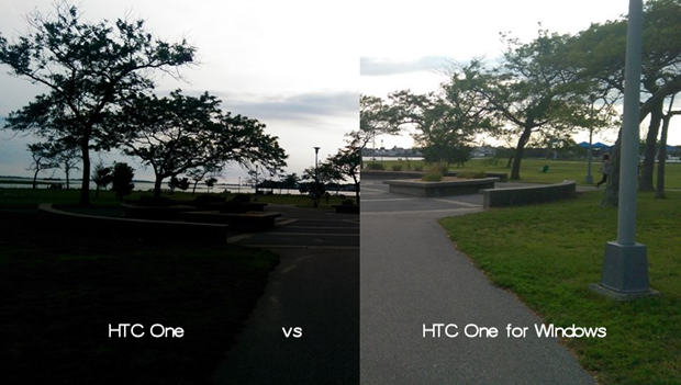 HTC One vs HTC One for Windows