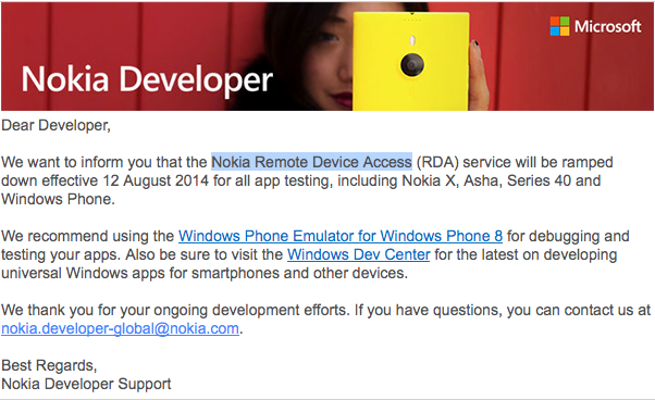 nokia remote device access