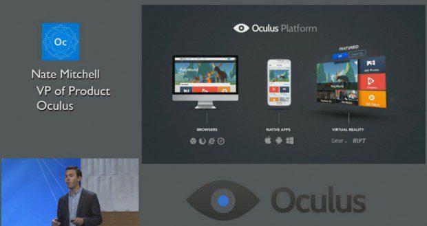 Oculus Windows Phone app