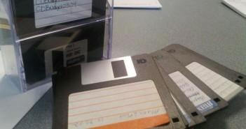 Tiffany LeMaistre - floppy disks - header