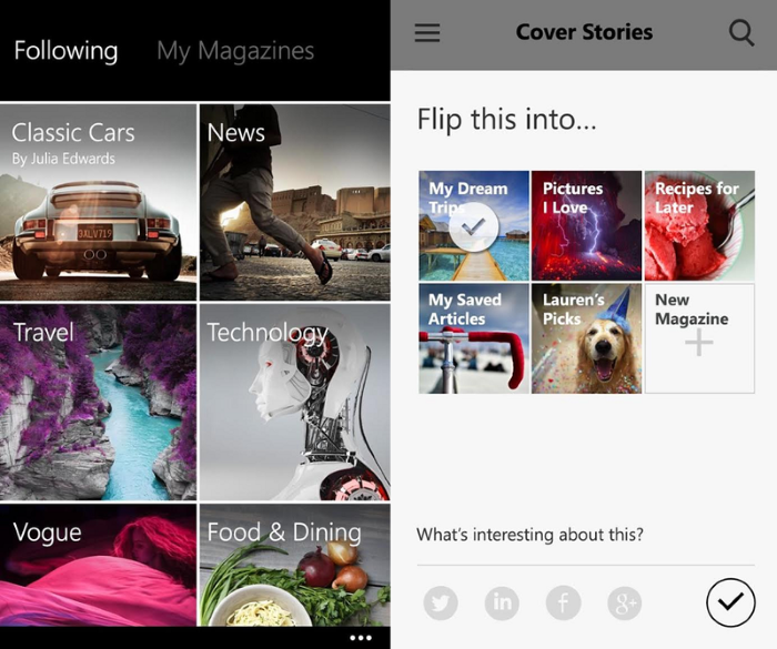 Flipboard for Windows Phone is finally here