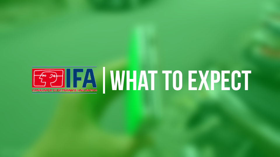 What to expect -IFA