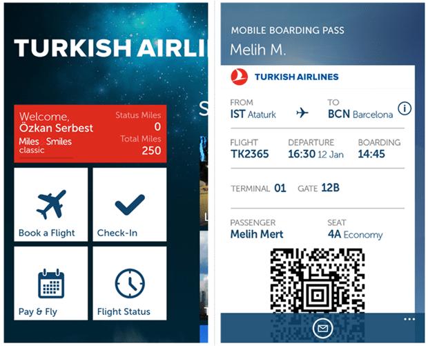 online turkish airline booking