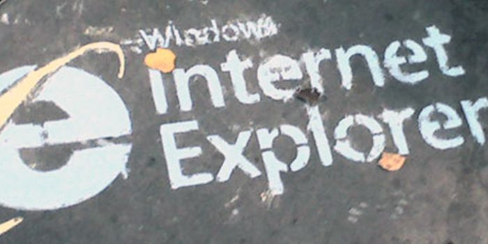 Jeff Wilcox Windows Internet Explorer 7 (Chalk Logo)