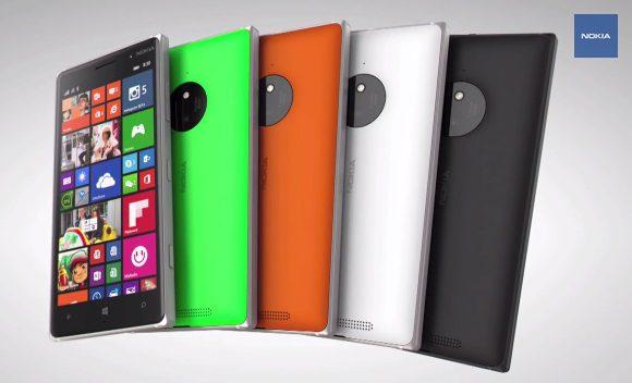 lumia 830 video