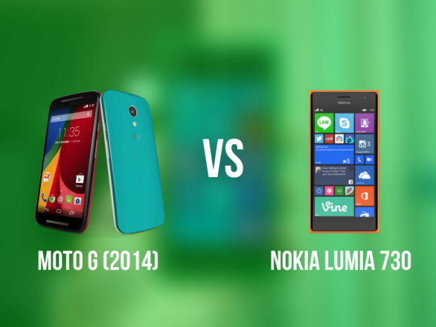 Nokia Lumia 730 vs Motorola Moto G (2014) : Battle of the mid-range smartphones