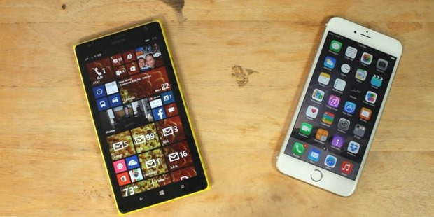 nokia lumia 1520 vs iphone 6 plus header