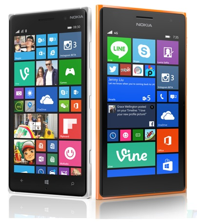 nokia lumia 730 and 830