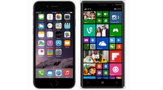 iPhone 6 vs Nokia Lumia 830 (specs) 8