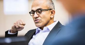 satya nadella Microsoft w