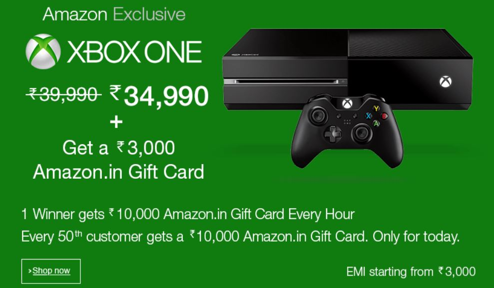 Amazon India Xbox One