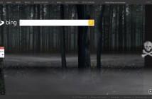 Bing Home Page Haloween