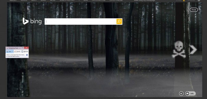 Check Out Bing's 2014 Halloween Home Page Experience