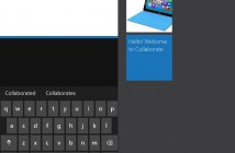 Collabrate Windows Phone app