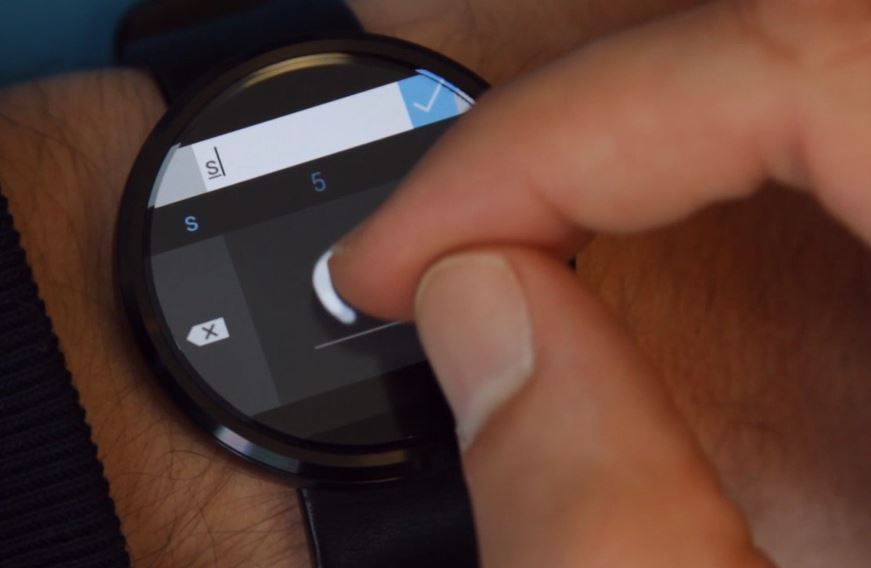 Custom Keyboard Android Wear