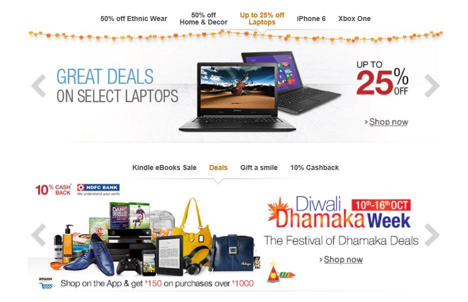 Diwali Amazon sale