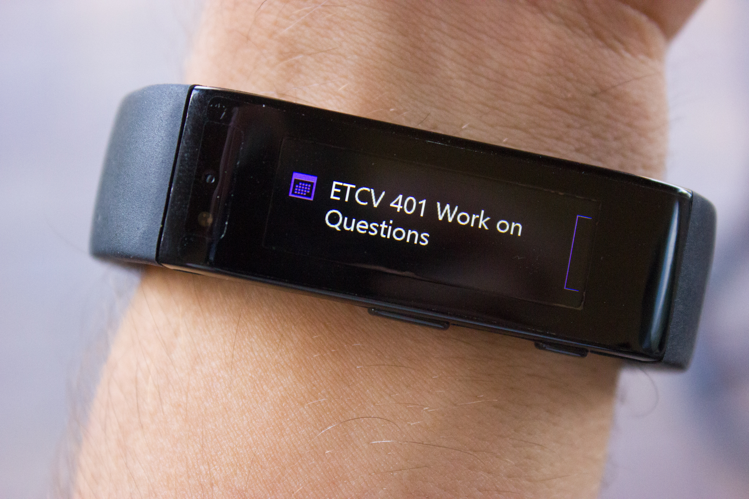 Review of Microsoft Band as a smartwatch 4