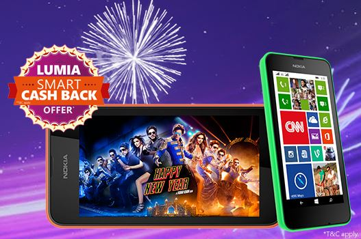 Lumia Cash Back Offer Diwali