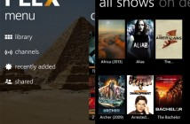 Plex Windows Phone app