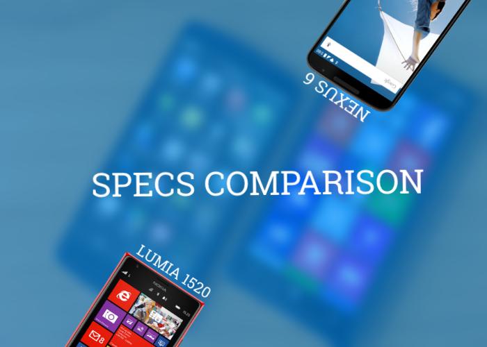 Lumia 1520 vs Nexus 6 - Specs Comparison  5