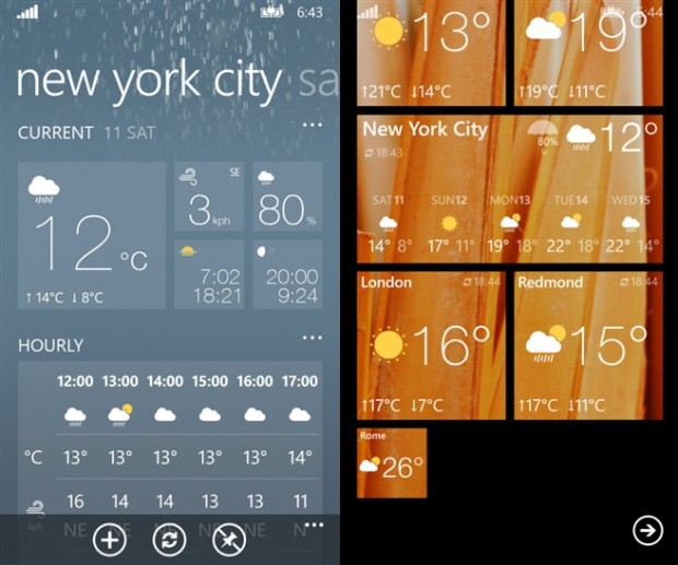 WeatherFlow Windows Phone