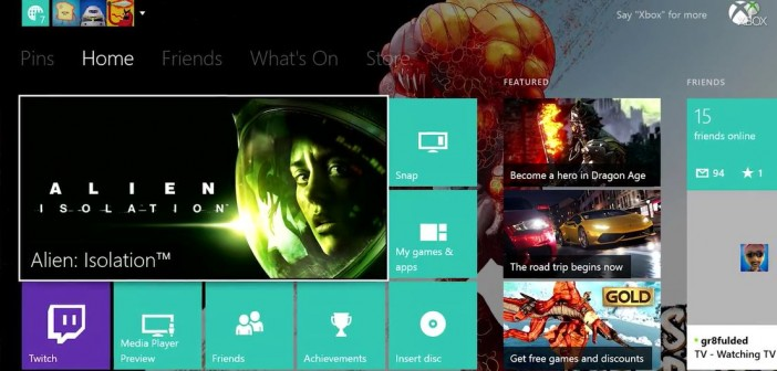 Microsoft Announces Xbox One November System Update, Includes Custom Backgrounds Support