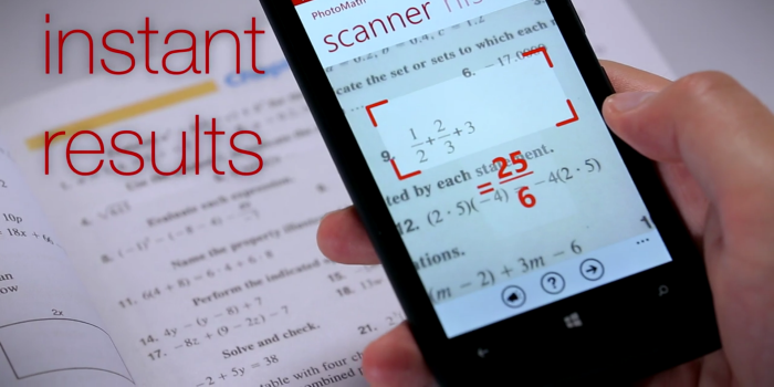 New Windows Phone app will solve your math problems in real time ...