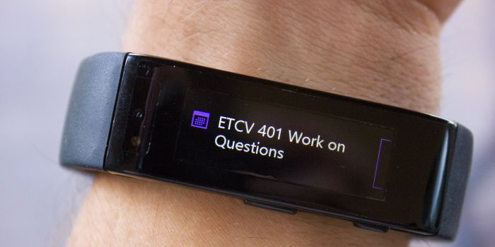 First Impressions of the Microsoft Band after a half maraton 8