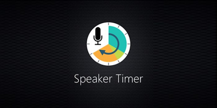 Speaker Timer for Windows phone and Windows Store 1