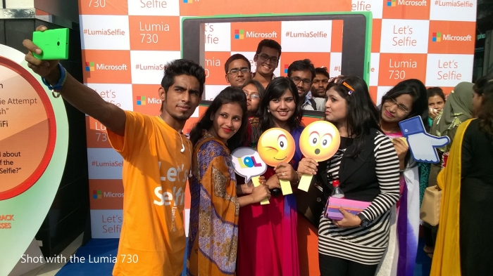 Lumia Bangladesh releases 'Let's Selfie' music video