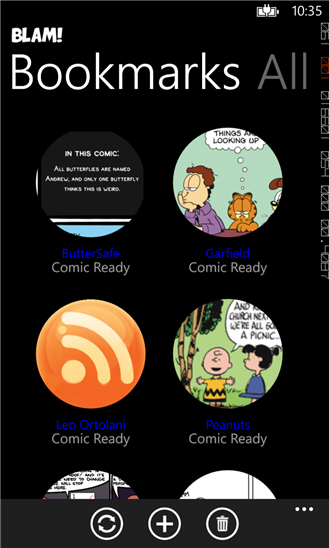 Blam! the comic strips reader is now ad-free! 1