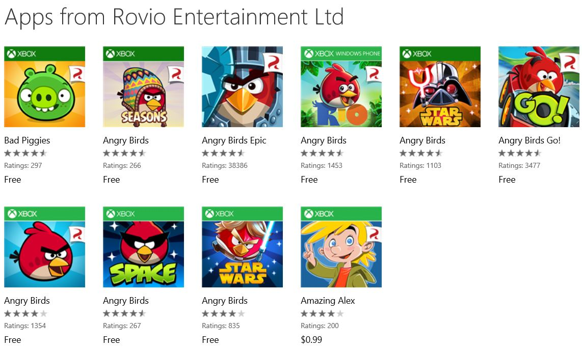 Angry Birds Free Download Windows Phone