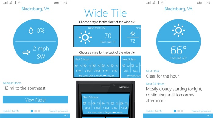 Blue Skies gets updated with couple of new features