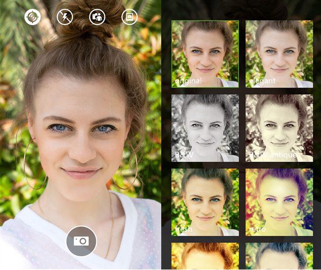 Lumia Selfie App