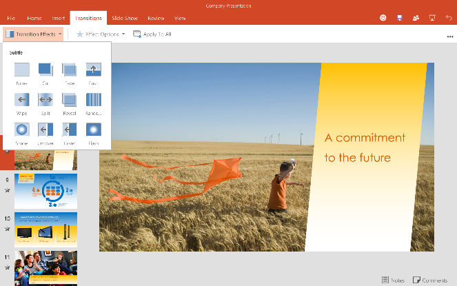 Office for Android PowerPoint