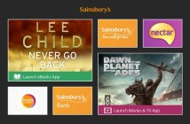 Sainsbury's Windows Store