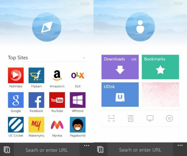 UC Browser 8.1 updated to version 4.1 10