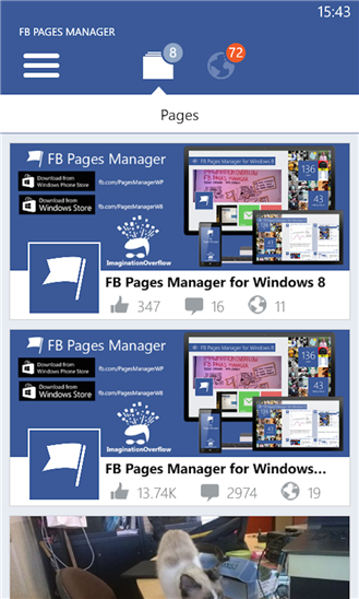 FB Pages Manager gets new update - MSPoweruser
