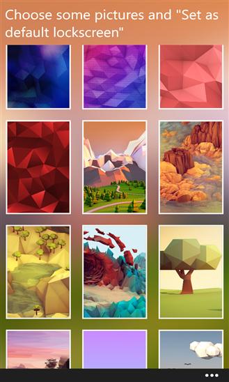 Poly Locksreen - polygon wallpaper for who love Polygon Art 14