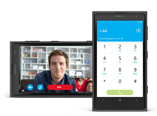 how to call private from my windowa phone