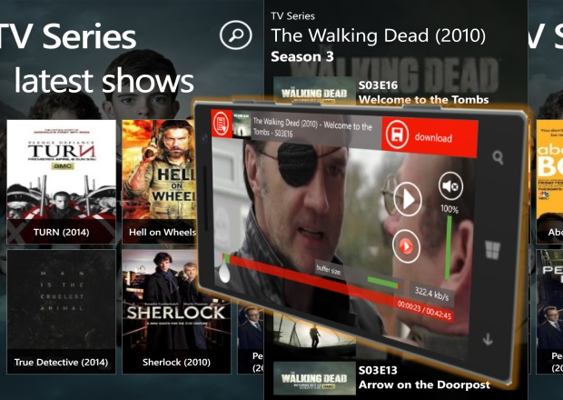 TV Series App Updated With Improved Search Results, Transparent Tile And More 14