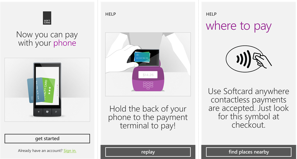 Tap to Pay comes to Windows Phone in USA with AT&T Softcard app 12
