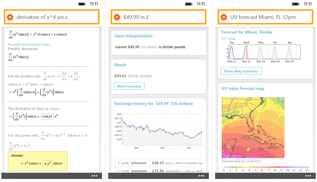 official wolfram alpha app now in the windows phone store. Black Bedroom Furniture Sets. Home Design Ideas