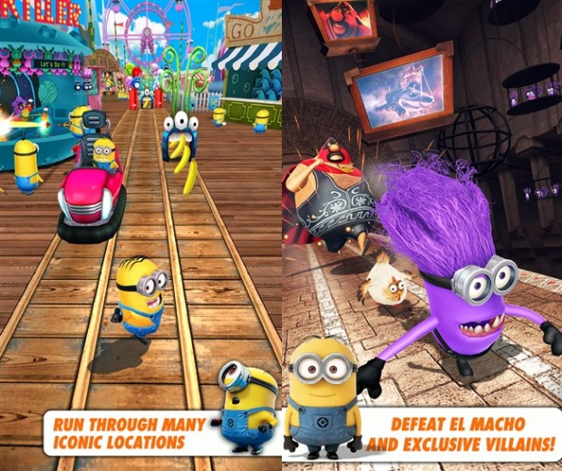 Despicalbe Me Minion Rush