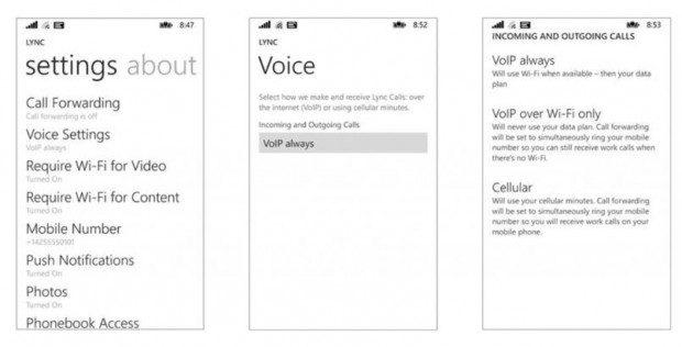 Lync App Update