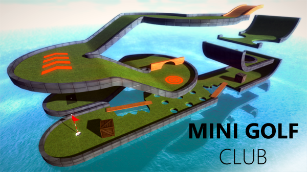Mini Golf Club, a realistic 3D mini golf simulator for Windows Phone 8. 10