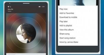 Rdio Windows Phone app