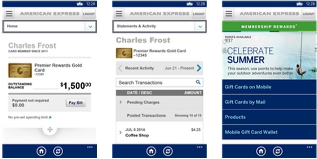 Official American Express app comes to US Windows Phone users 4