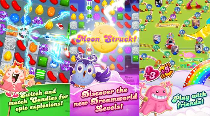 Candy Crush Saga finally comes to Windows Phone
