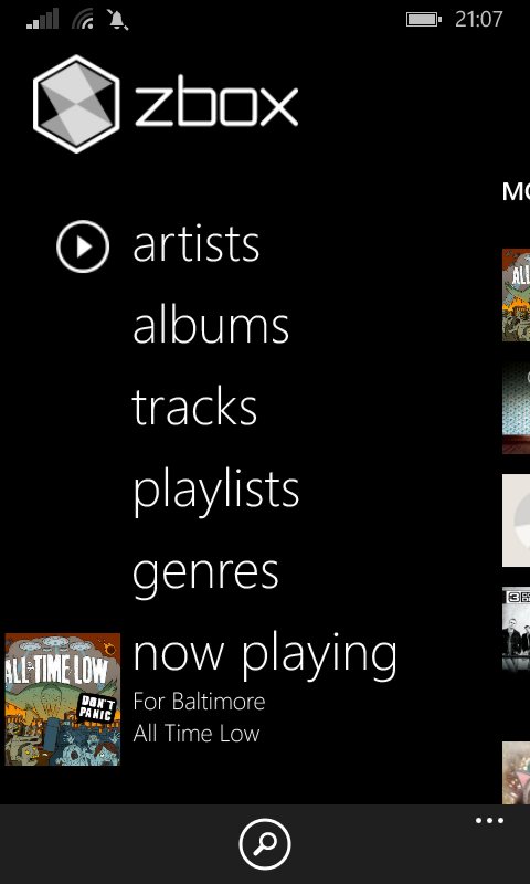 Zbox and OneMusic joint review- The best Windows Phone music players are kneecapped 1